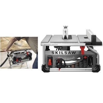 Skil Pro Worm Drive Table Saw ~ 10""