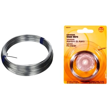 Galvanized Wire, 28 Gauge ~ 100 feet