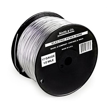 Electric Fence Wire ~ 17ga/.5 mile