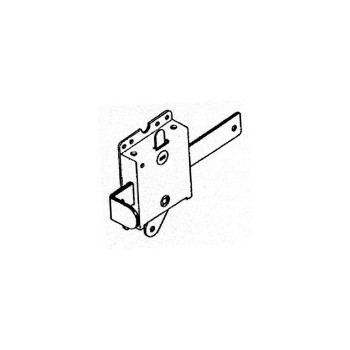 Garage Door Side Lock, Spring Loaded