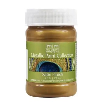 Metallic Paint, Brass  ~ 6 Ounce