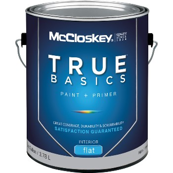 Interior Flat Clear Base Paint 1 Gal.