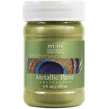 Metallic Paint, Sage 6 Ounce