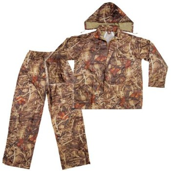 Xl 2pc Camo Rain Suit