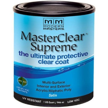 Buy The Modern Masters Mcs90232 Masterclear Protective Coat Satin Quart Hardware World