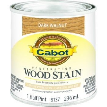 Wood Stain - Dark Walnut - 1/2 pint