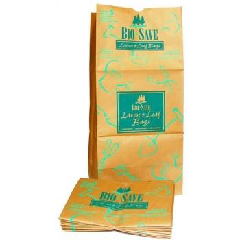Clayton Paper AJM-RBR30125BO Bio-Save Lawn & Leaf Paper Bag ~ 30 Gallon
