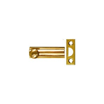 Solid Brass/Pb Surface Bolt, Visual Pack 1922 2 inches