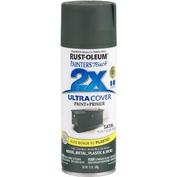 Rust-Oleum 249074 Ultra Cover 2X Spray ~ Hunt Club Green  Satin