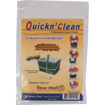 Bucket Liners, 4 gallon ~ 5 pack