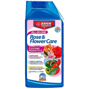 Bayer Advanced 701260B All-In-One Rose & Flower Care ~ 32 ounce