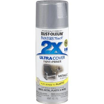 Rust-Oleum 249128 Spray Paint  2X Ultra,  Aluminum Metallic ~ 12 oz