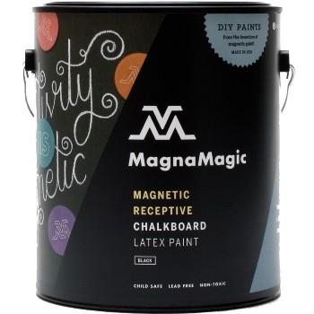 MagnaMagic MCPG840 Chalkboard Paint, Black ~ Gallon