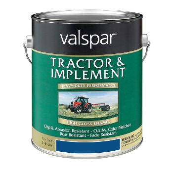 Valspar/McCloskey 18-4431-12-07 Tractor & Implement Paint - Ford Blue - 1 Gallon