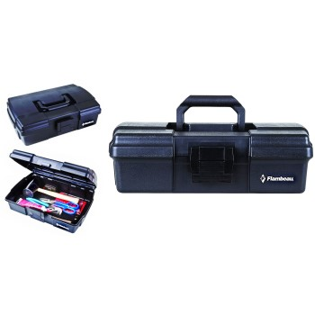 "Flambeau 18192 Low Boy Tool Box, Black ~ 18.5"" x 12.5"" x 6"""