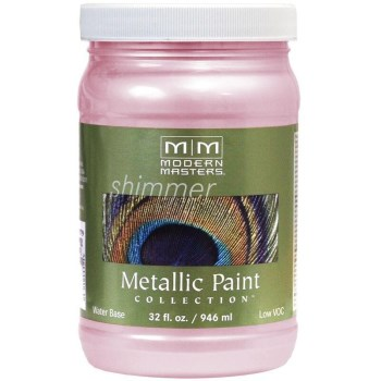 Metallic Paint, Pink Pearl 32 Ounce