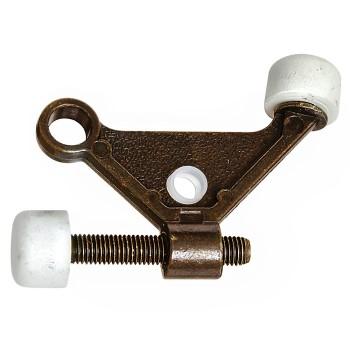 National 159046 Hinge Pin Door Stop, Antique Brass
