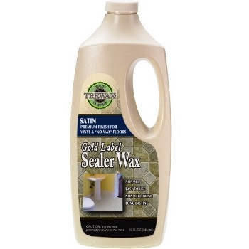 Trewax Gold Label Sealer Wax, Satin Finish ~ 32 oz