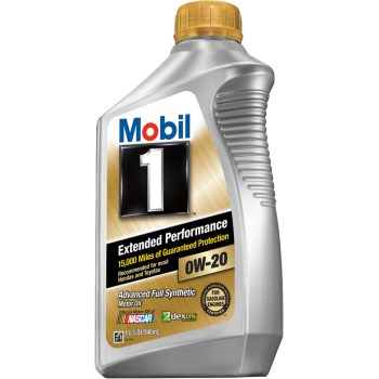 Mobil 1 Advanced Full Synthetic Motor Oil,  SAE 0W-20 ~ Quart