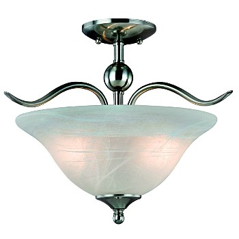 Ceiling Fixture - Dover Series/2 light, Semi-Flush