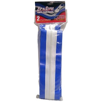 "Zip-N-Close Zippers for Temporary Barriers ~ 3"" W x 7 Ft L"