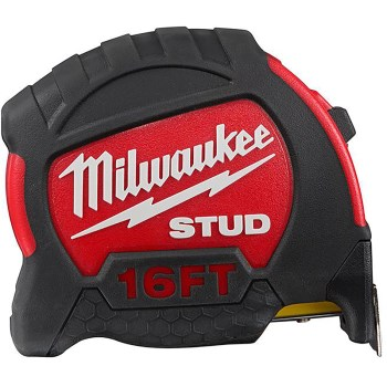 Milwaukee Brand Stud™ Tape Measure ~ 16 Ft