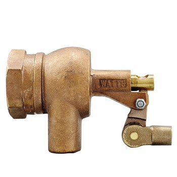 Flippen Heavy Duty FIP Inlet Bronze Float Valve, 1500 1-1/2""