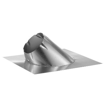 "Roof Flashing , DuraPlus ~ 7/12 - 12/12 Pitch for 6"" Vent"