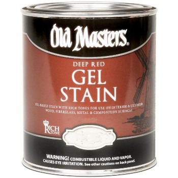 Deep Red Series Gel Stain, Espresso ~ Gallon