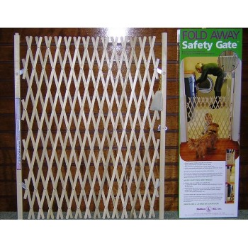 Wood Safety Gate - 3'