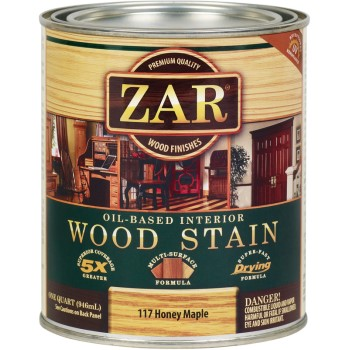 ZAR  Honey Maple Wood Stain, Quart