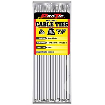 Cable Ties ~ 7.9in. 100pk