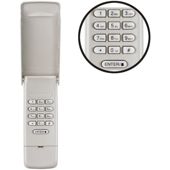 Garage Door Access Wireless Keypad