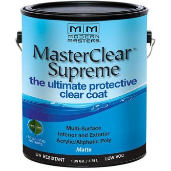 MasterClear Protective Clear Coat, Matte ~ Gallon