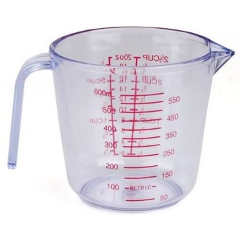 Plastic Measuring Cup ~  2.5 Cup Capacity