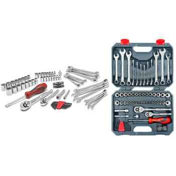 Professional Mechanics Tool Set with Storage Case ~  70 Piece