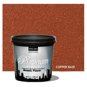Platinum Series Metallic Plaster, Copper Base ~ Quart