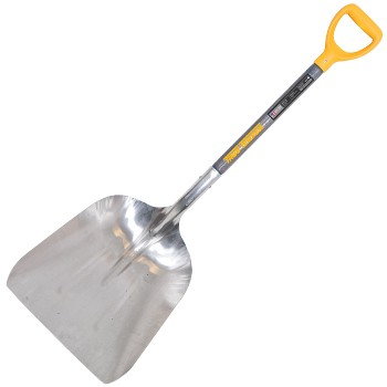 Grain Scoop Shovel, D Grip Handle ~ 26""