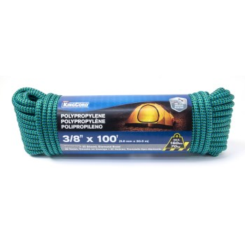 3/8in. X100ft. Poly Rope