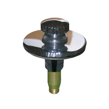 Larsen 03-4881 Push Pull Bathtub Stopper ~ Chrome