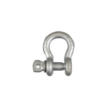 National 223685 Galvanized Anchor Shackles - 3/8 inch