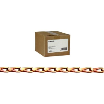 Boxed Cooper Plated Steel Sash Chain ~ #8 x 100 Ft