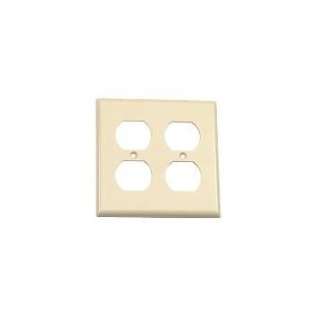 Leviton 001-86016 Duplex Plate Ivory