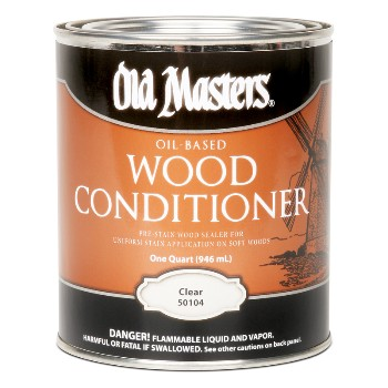Wood Conditioner, Stain Controller ~ Quart
