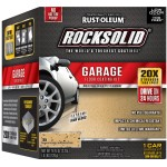 RockSolid Garage Floor Coating Kit, Tan