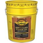 Australian Timber Oil, Mohogany Flame ~ 5 Gallon Bucket
