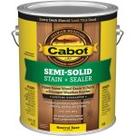 Semi-Solid Deck & Siding Stain, Neutral Base ~ Gallon